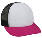 White/ Black/ Fuchsia