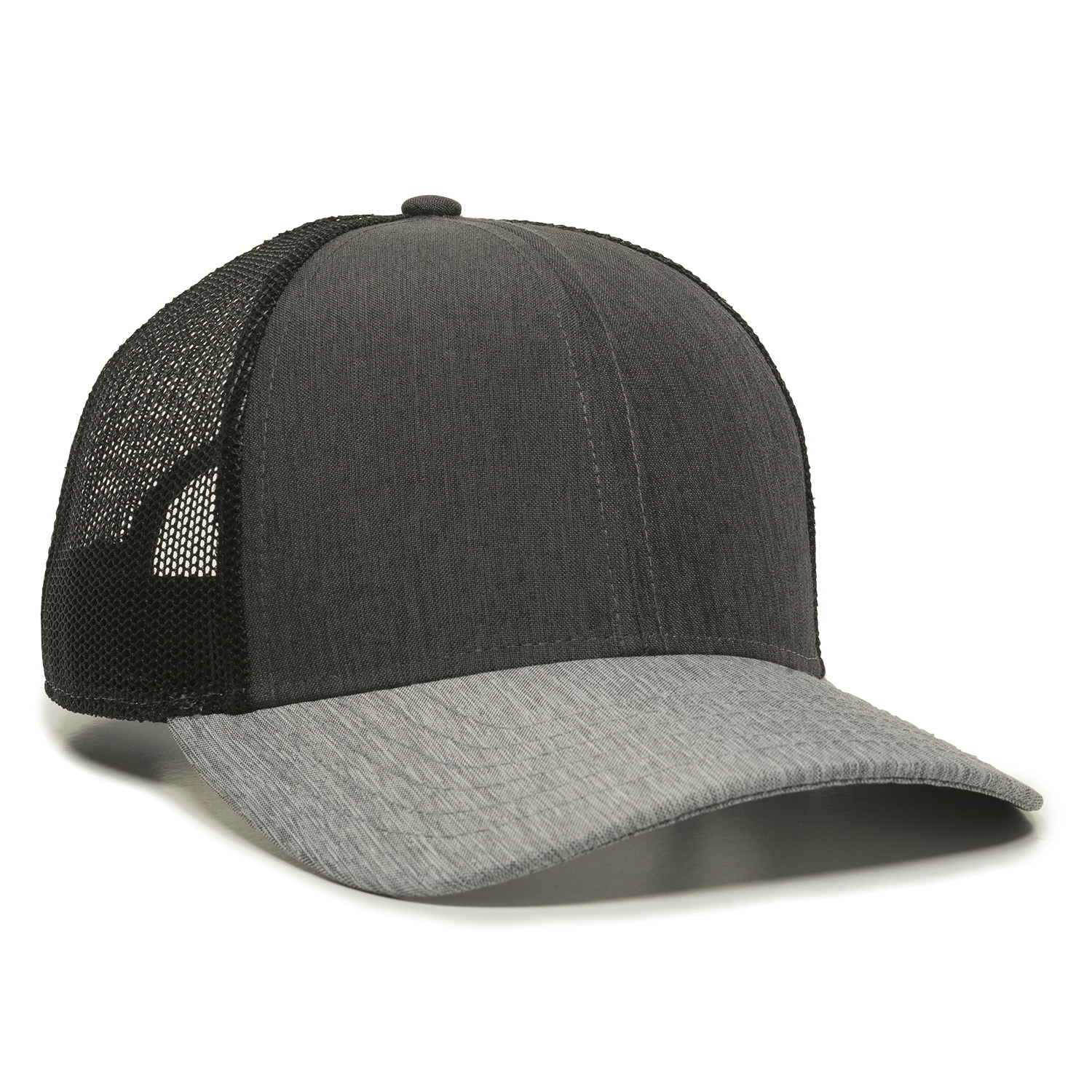 Heathered Charcoal/Black/Heathered Grey