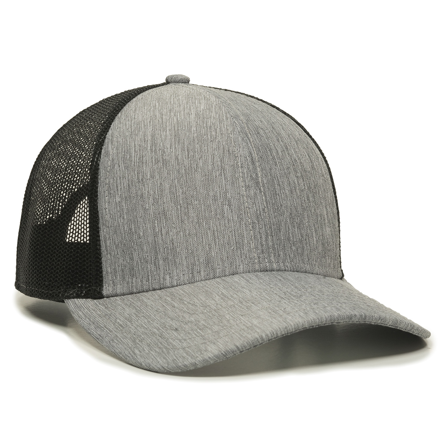 Heathered Grey/Black