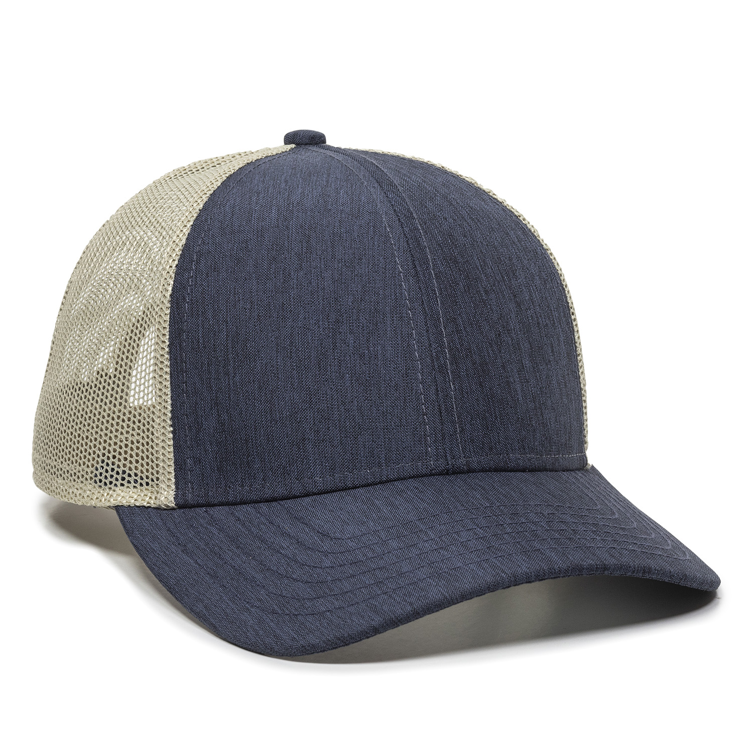 Heathered Navy/Khaki