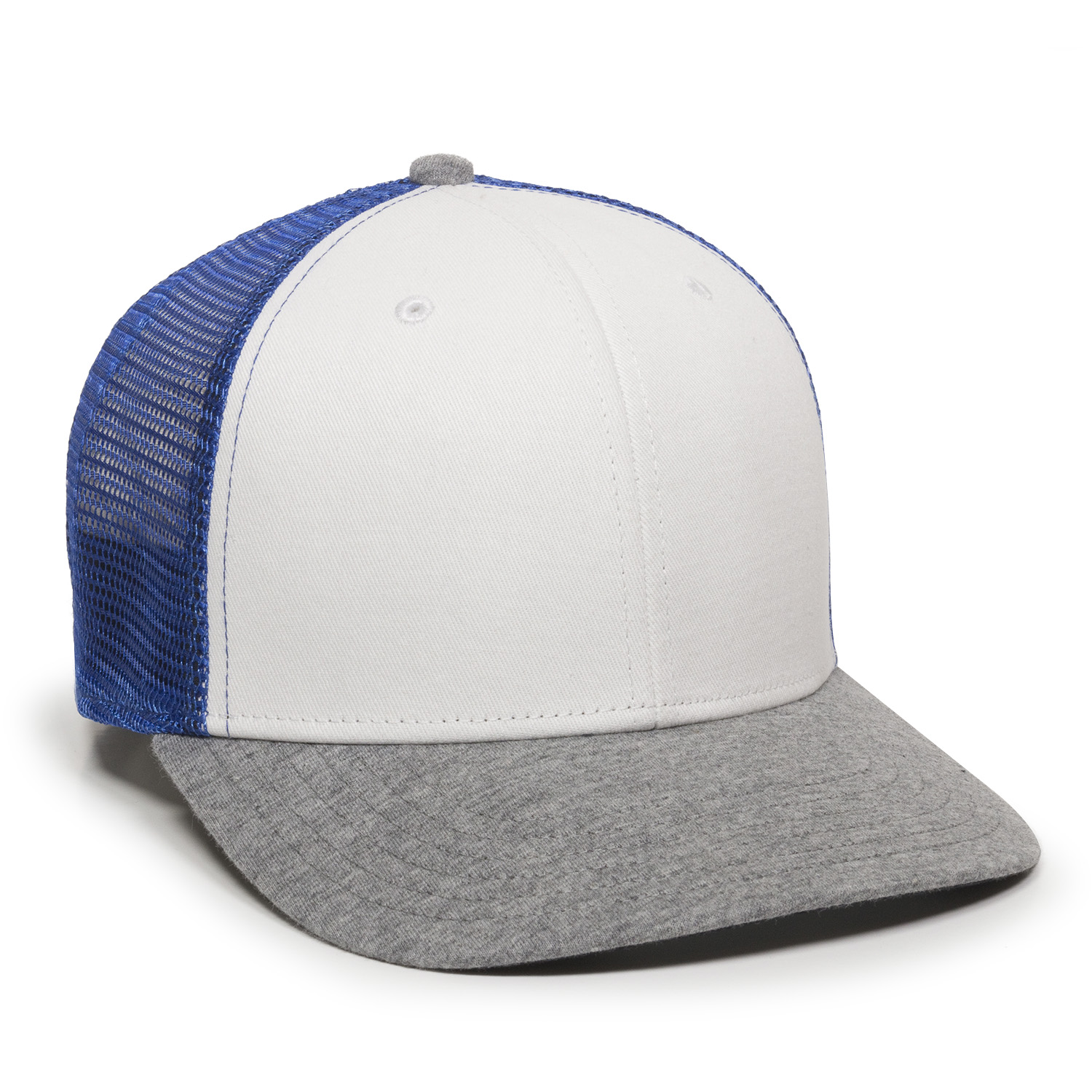 White/Royal/Heathered Grey