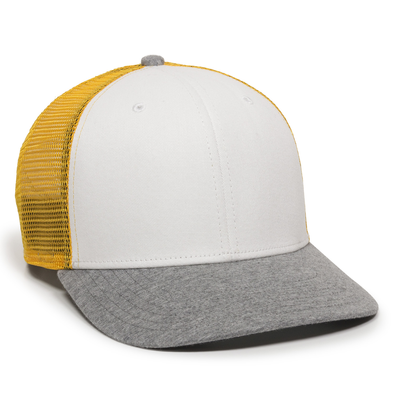 White/Gold/Heathered Grey