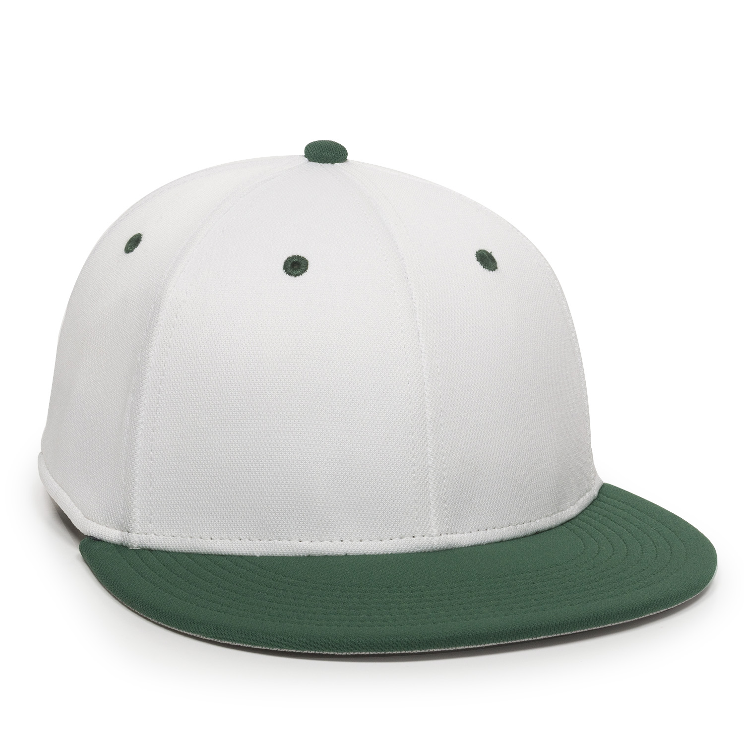White/ Dark Green